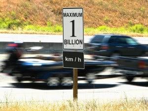Speeding 1 Billion Image