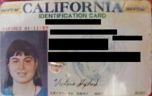 California State ID Card