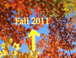 Fall 2011 admission deadlines planning