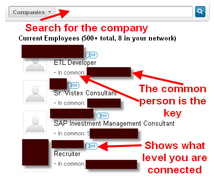 Linkedin References Job Search How to