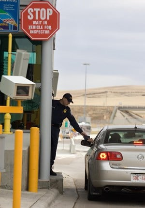 CBP Immigration Check point within US travel H1B