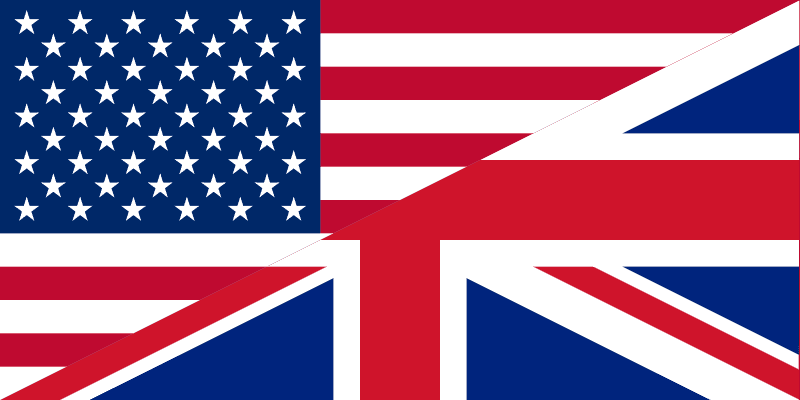 Common American English Words used in daily life vs British English words
