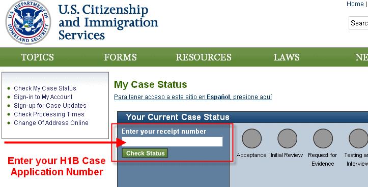National visa center gov