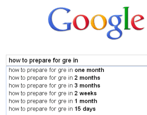 How to prepare for GRE in 1 month