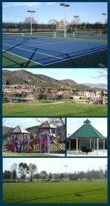 Sample Community Park in USA