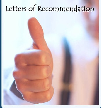 Letters of Recommendation for Graduate School in USA