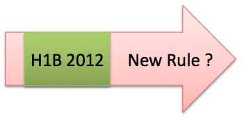 H1B visa 2012 Lottery new rule