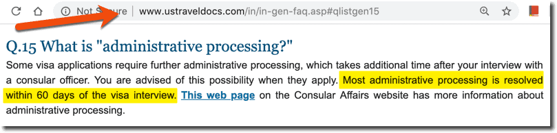 What is 221(g) - Reasons ? Processing Times ? Delays ? FAQs
