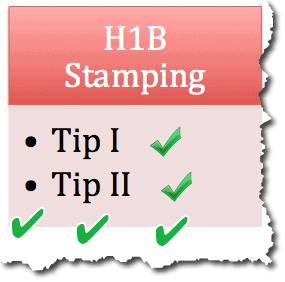 5 Tips from H1B Visa Stamping Experience 2012 - New Delhi