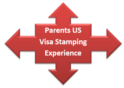 Parents US Visitor Visa Stamping in Hyderabad – Telugu – Experiences 2015