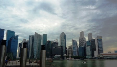 Singapore Skyline vs USA