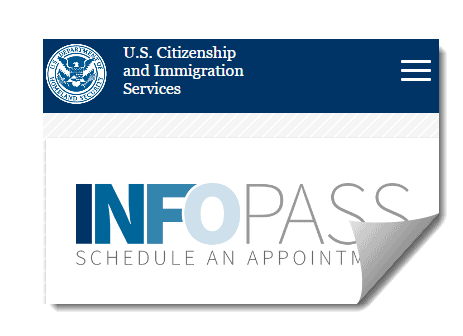 Image result for USCIS InfoPass Appointments Program