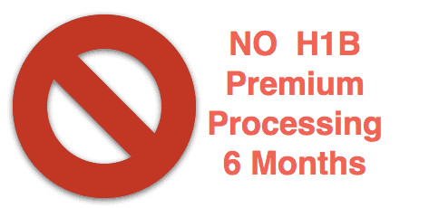 News:H1B Premium Processing Suspended 6 mon - All Petitions, 2018