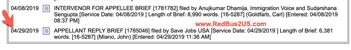 Appellant Reply Brief April 29-2019 Info
