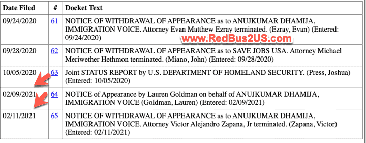 February 2021 H4 EAD Lawsuit update