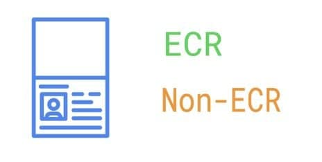 ECR vs Non-ECR - ECNR Indian Passport Meaning and Info