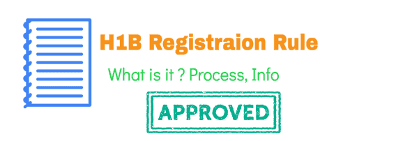 H1B Registration Rule by USCIS Full Information