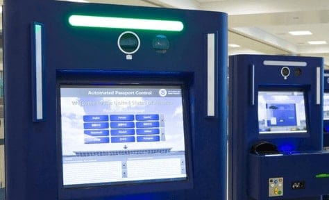 Automated Passport Control Kiosks - APC in USA at Port of Entry