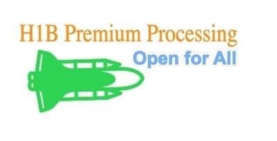 H1B Premium Processing News 2019
