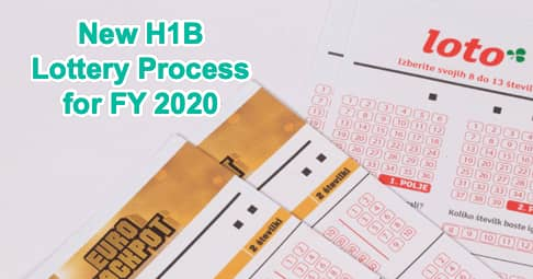 New H1B 2020 Lottery Process Info