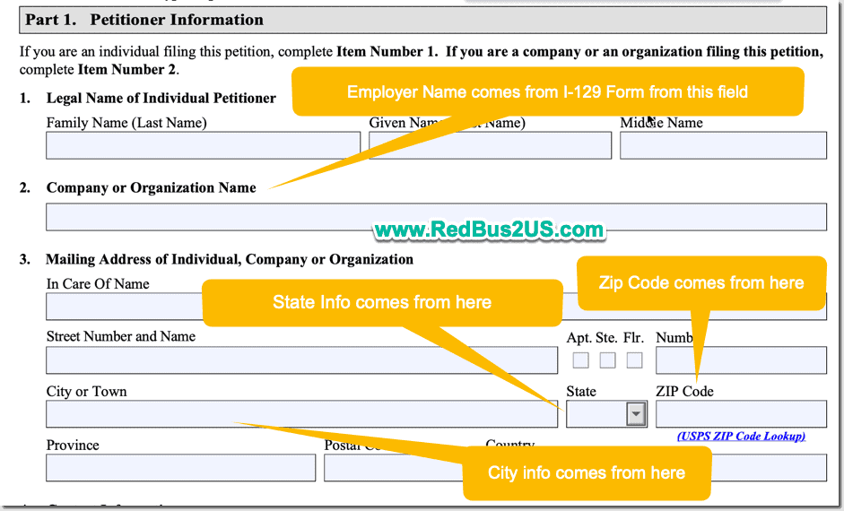 Employer Name - State and Zip Code on H1B USCIS Employer Data Hub