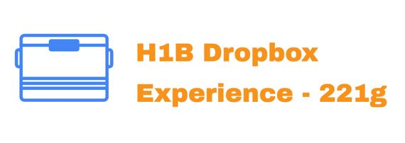H1B Dropbox Experience India 2019 - Info with 221g and Interview