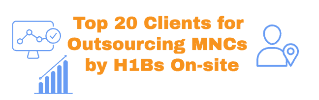 H1B LCA Stats for end Clients by Department of Labor Article
