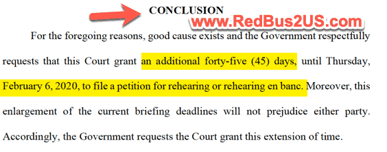 45 Days Extension of Date - DHS Request Court Case H4 EAD