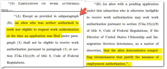Employment Authorization - Dependents Green Card