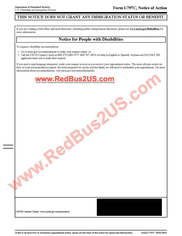 H1B Visa Registration Selection Notice - Page 2
