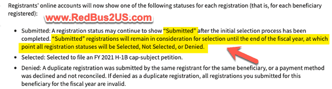 USCIS Alert Last Date Submitted Status