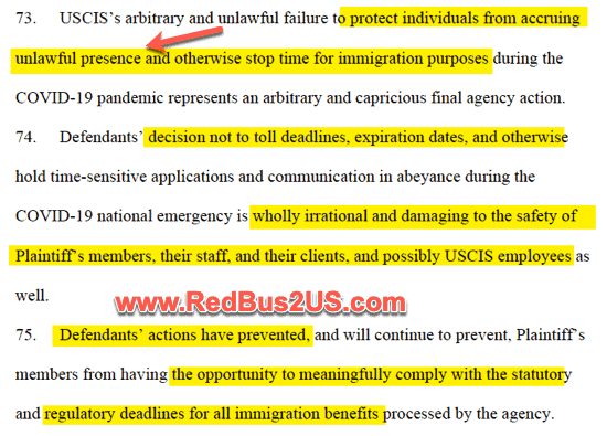USCIS Inaction Causing Issues for Futrure Immigration Benefits AILA Lawsuit