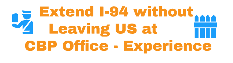 Extend I-94 without leaving USA - Experience