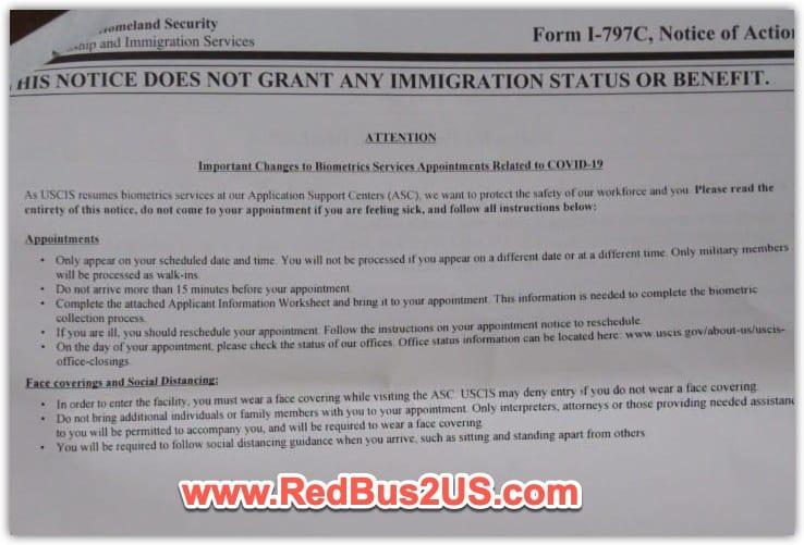 Biometrics Instructions