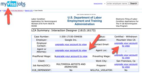 myvisa jobs check h1b lca