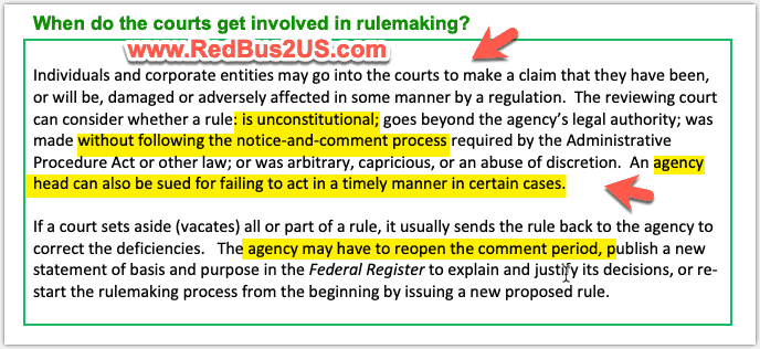 Federal Rule Making - Courts Involvement