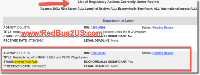 H-1B and PERM Wage Levels Regulation by DOL
