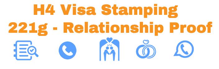 H4 Visa Stamping 221g India - Mumbai