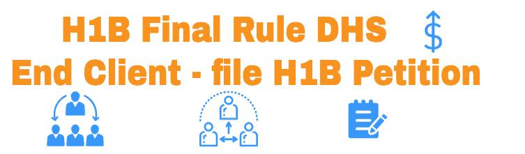 H1B New Rule DHS Third party workers