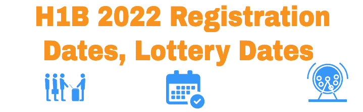 H1B 2022 Registration Lottery Dates by USCIS Details