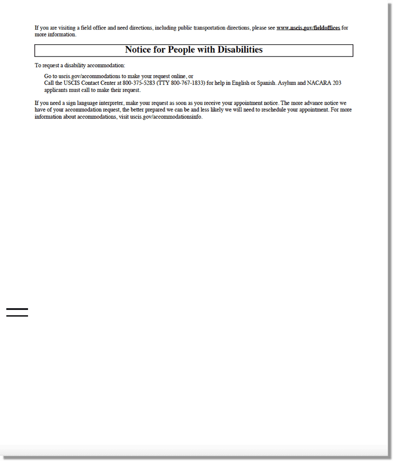 H1B Visa 2022 Registration Lottery Selection Notice Sample - Page 2