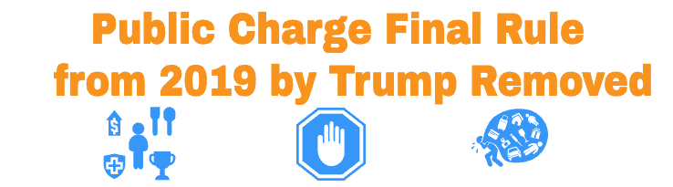 Public Charge Final Rule by Trump Removed by USCIS
