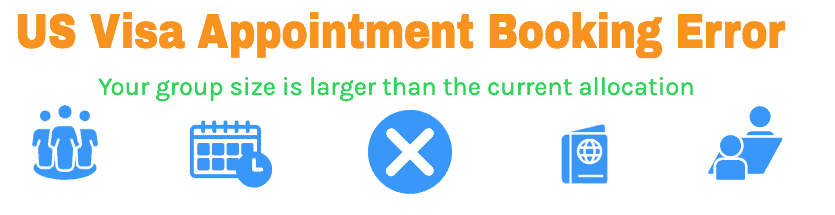 Your Group size is larger than the current allocation error and solution